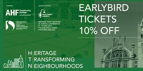 Heritage Transforming Neighbourhoods tickets