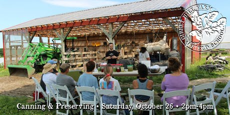 Gibbet Hill Farm Field School • Canning & Preserving tickets