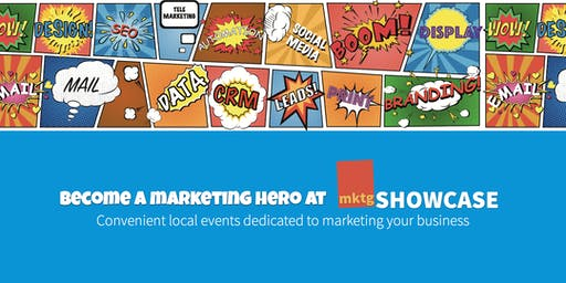 mktgSHOWCASE - The Marketing Solutions Roadshow - Manchester