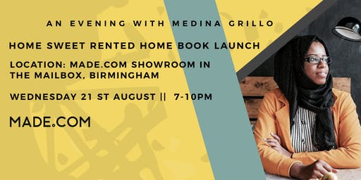 An Evening With Medina Grillo - Home Sweet Rented Home Book Launch