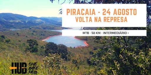 Represa de Piracaia - 58 km - MTB - Intermediário +