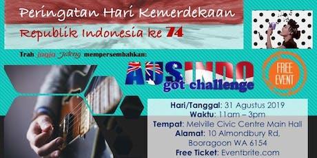 Ausindo Got Challenge tickets