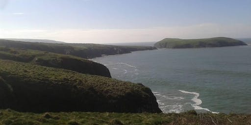 Cardigan to Tresaith. 14 miles Walk, Jog or Run Challenge