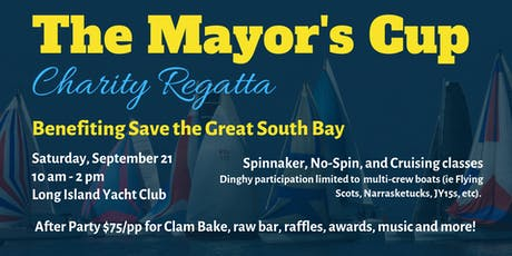 The Mayor's Cup Charity Regatta & Clambake tickets