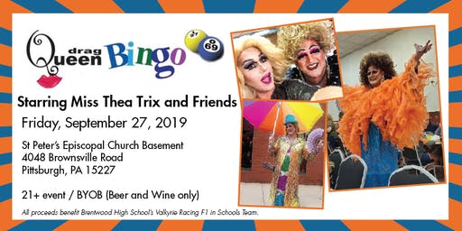 Drag Queen Bingo Starring Miss Thea Trix and Friends