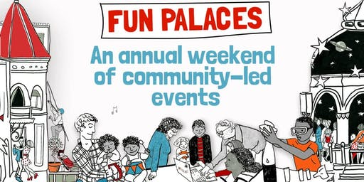 Gawthorpe Hall Fun Palace (Padiham) #funpalaces