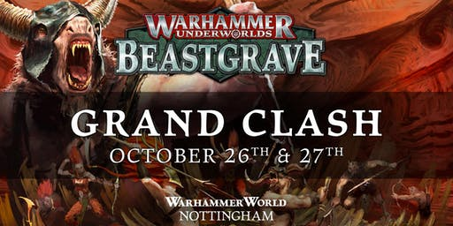 Grand Clash Warhammer World October 2019