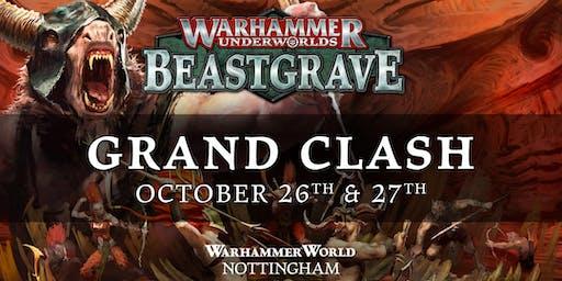 Grand Clash Warhammer World October 2019