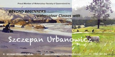 WATERCOLOUR CLASS - BEYOND BEGINNER - MON AM - 9.30 - 12.30 - 6 WEEKS