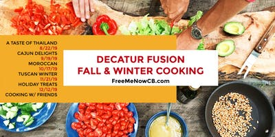 Cooking with Friends: Decatur Fusion Cooking Class