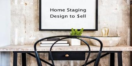 """New CE! """"Home Staging - Design to $ell"""" 3 Hours CE FREE Duluth tickets"""