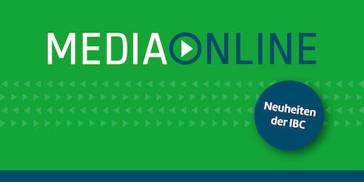 Media Online Hausmesse 2019 - News von der IBC Show