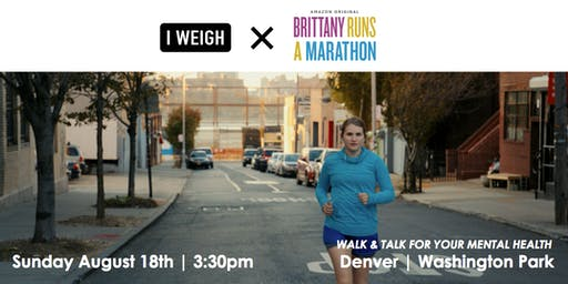 I Weigh Walks Series: Denver // Walk + Talk for Mental Health