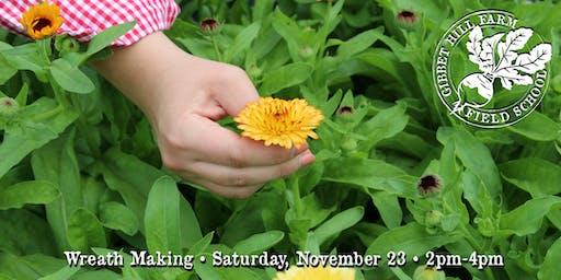 Gibbet Hill Farm Field School •Wreath Making