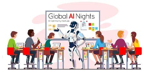 Noson DA fyd-eang -  Global AI night tickets