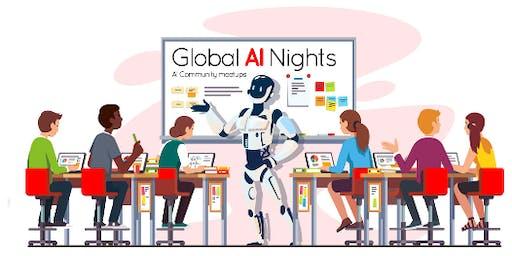 Noson DA fyd-eang -  Global AI night