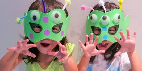 Space Masks - Madeley Library tickets