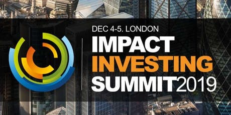Impact ESG Investment & Sustainable Investing Conference 2019 tickets