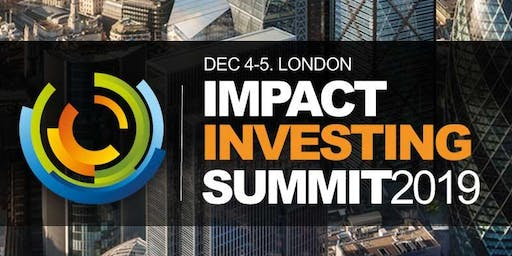 Impact ESG Investment & Sustainable Investing Conference 2019
