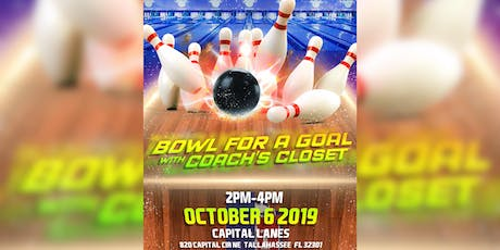 Bowl For A Goal With Coach's Closet tickets