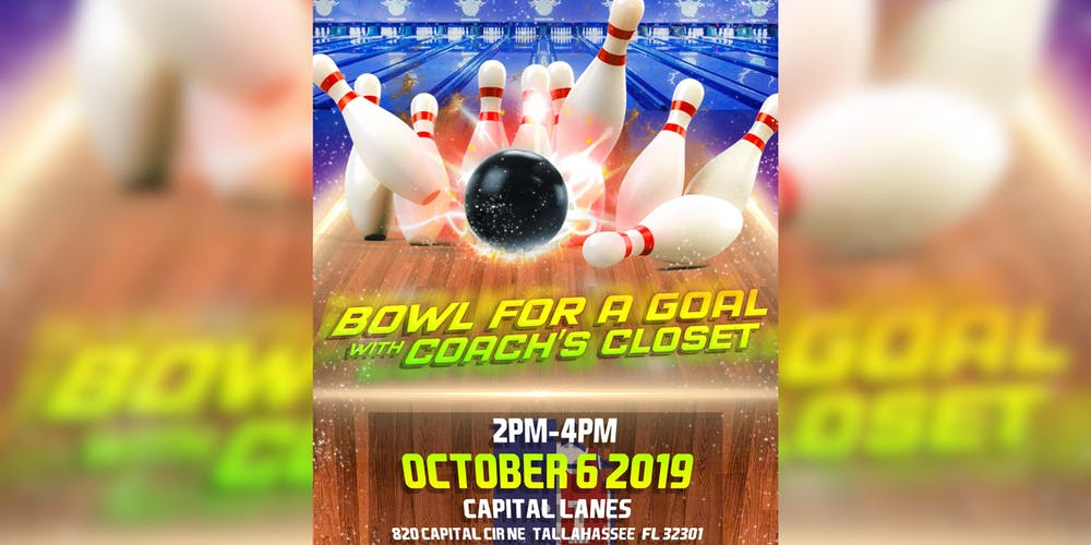Bowl For A Goal With Coach's Closet Tickets, Sun, Oct 6