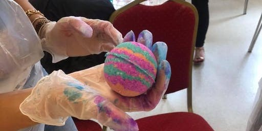 Family Bath Bomb Workshop Gloucester
