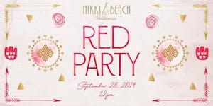 Nikki Beach Mallorca Red Party 2019