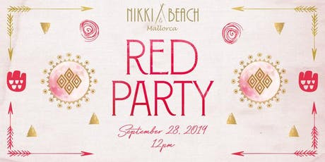 Nikki Beach Mallorca Red Party 2019 tickets
