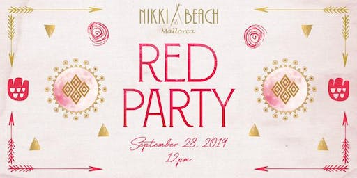 Nikki Beach Mallorca Red Party 2019