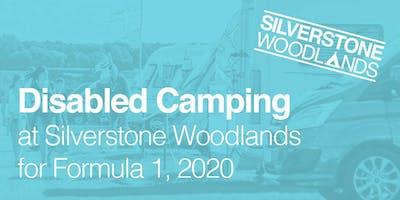 Disabled Camping at Silverstone Woodlands, Formula 1