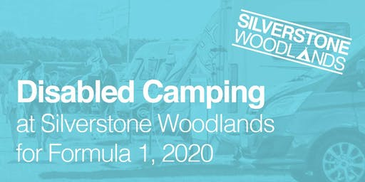 Disabled Camping at Silverstone Woodlands, Formula 1