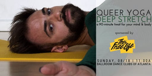FREE w/RSVP! Queer Yoga Deep Stretch sponsored by TFL