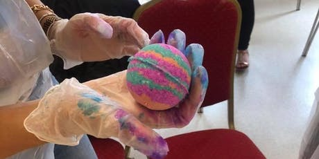 Adult Bath bomb workshop Gloucester  tickets