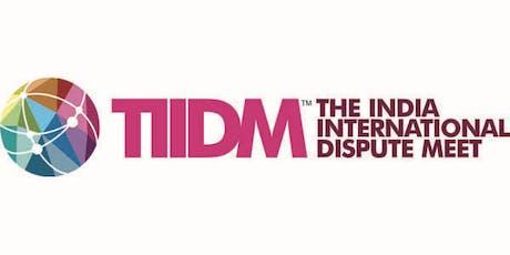 The India International Dispute Meet billets