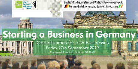 'Starting a Business in Germany – Opportunities for Irish Businesses '  tickets