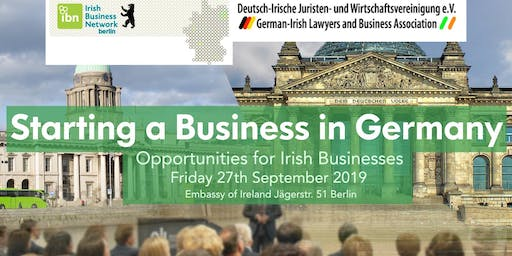 'Starting a Business in Germany – Opportunities for Irish Businesses '