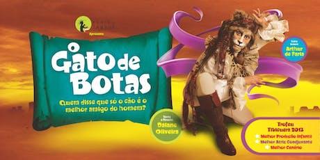 O gato de botas | Teatro Infantil | Sesc Canoas ingressos