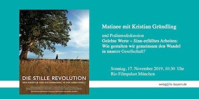 """Filmmatinée: """"Die stille Revolution"""" mit Podiumsdiskussion"""