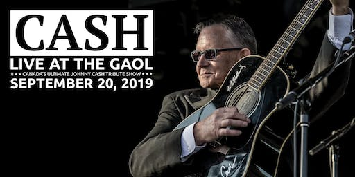 Cash: Live at the County Gaol (A Fundraiser for the Digitized Newspaper Project)