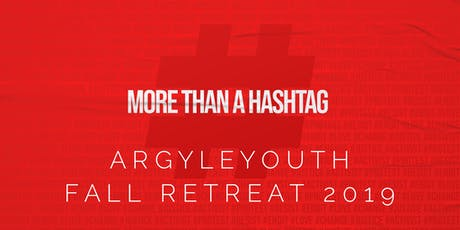 ArgyleYouth Fall Retreat 2019 tickets