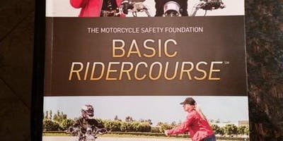 BRC1#415AM 9/10, 9/14 & 9/15 (Tues night classroom session with Sat & Sun MORNING riding sessions)
