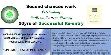 Celebrating LaResse Harvey's 20yrs of Successful Reentry tickets