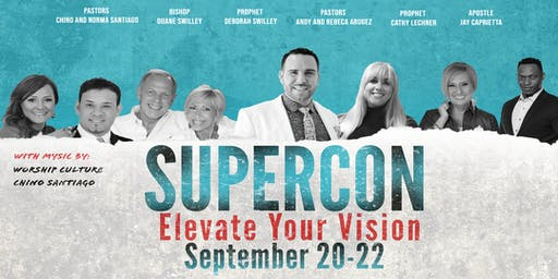 "Supercon 19'    "" Elevate your Vision"""