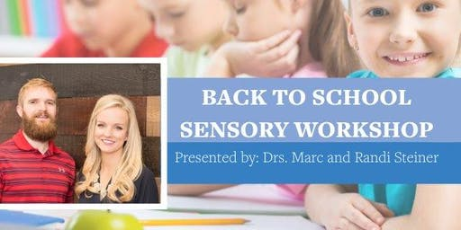 Back to School Sensory, ADHD & Anxiety Workshop