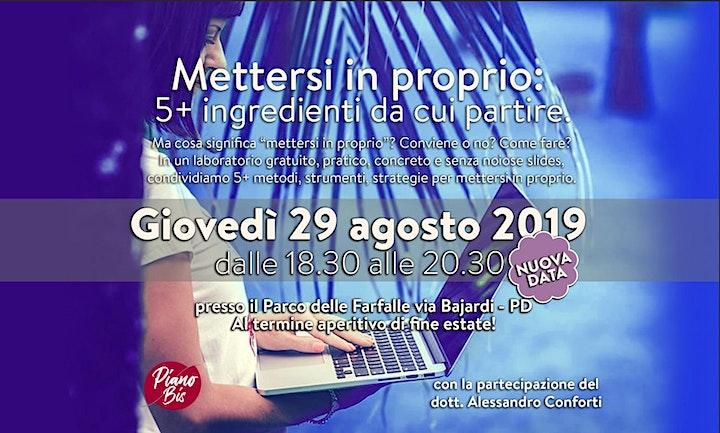 Immagine METTERSI IN PROPRIO