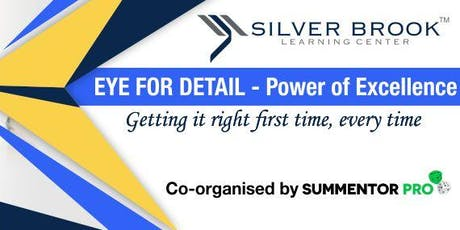 Eye for detail - training Program by Silver Brook Learning Center tickets