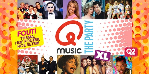 Qmusic The Party FOUT (XL) - Utrecht