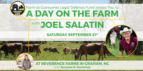 FTCLDF Fall Harvest Drive: A Day on the Farm with Joel Salatin tickets