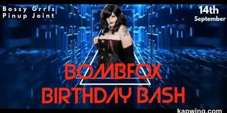 Bombfox Birthday Bash tickets
