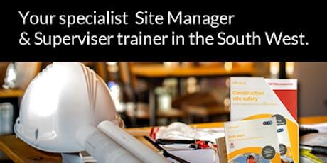 Site Supervisors Safety Training Scheme (SSSTS) tickets